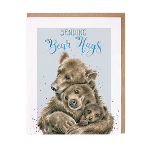 "*NEW* from Wrendale Designs - ""Sending Bear Hugs"" Greeting Card"