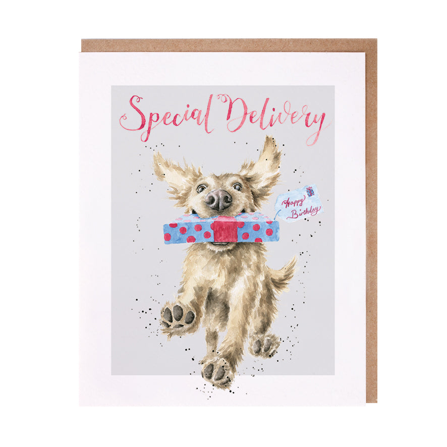 "*NEW* from Wrendale Designs - ""Special Delivery"" Greeting Card"