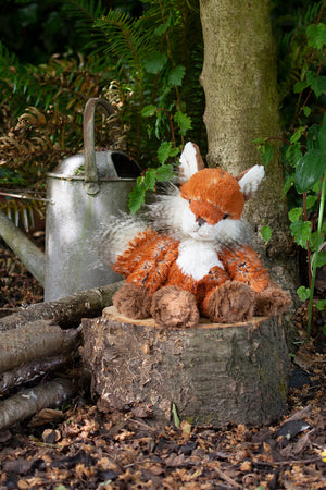 "*NEW* from Wrendale Designs - ""Autumn"" Fox Plush Animal"
