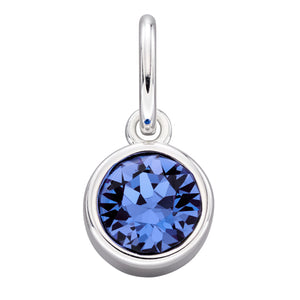 Sterling Silver Swarovski® Crystal September Birthstone Pendant
