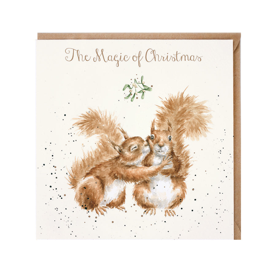 "Wrendale Designs -  ""The Magic of Christmas"" - Christmas Card"