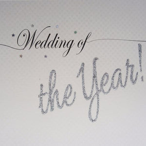 White Cotton Cards - Wedding of the Year