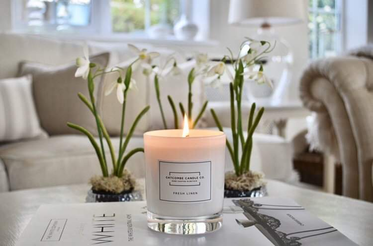 Gatcombe Candles - Cashmere and White Amber - Luxury Candle