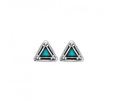 x tribal triangle STUD