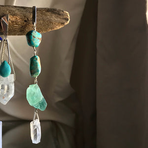 Statement Earring AQUA