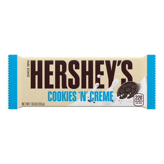Hershey's Cookies 'n' Creme White Chocolate Bar
