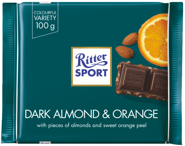 Ritter Sport Dark Almond & Orange