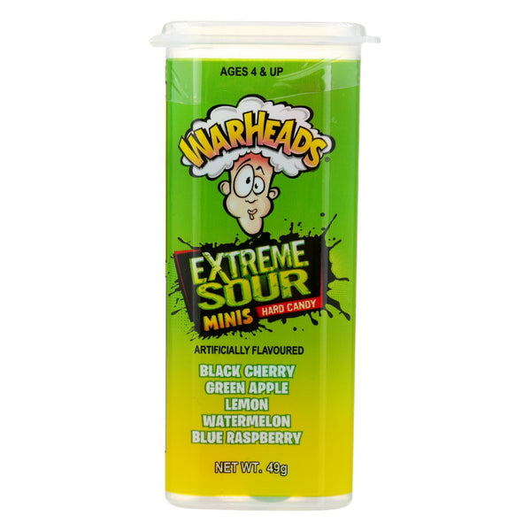 Universal Candy Pty Ltd Warheads Juniors Extreme Sour Hard Candy
