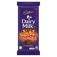 Cadbury Crunchie Dairy Milk Chocolate Block