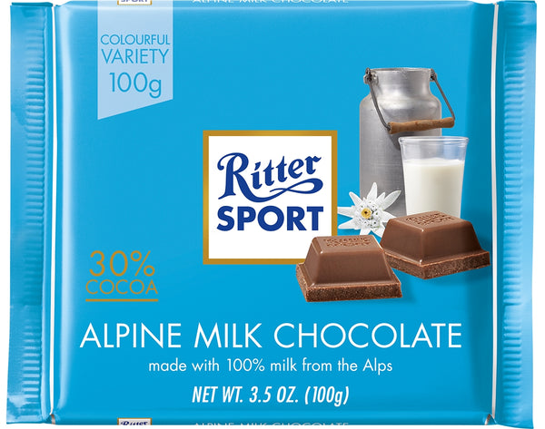 Ritter Sport Alpine Milk Chocolate