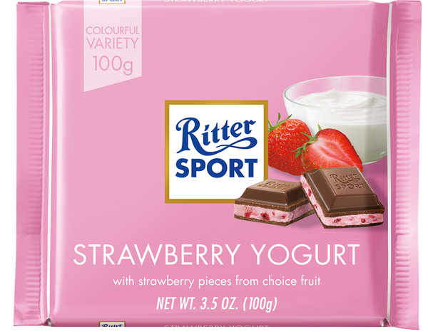 Ritter Sport Strawberry Yogurt