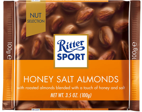 Ritter Sports Honey Salt Almonds