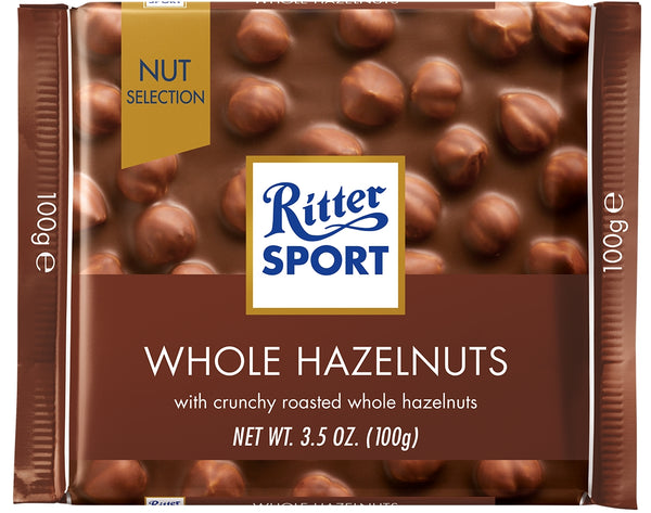 Ritter Sport Milk Whole Hazelnuts