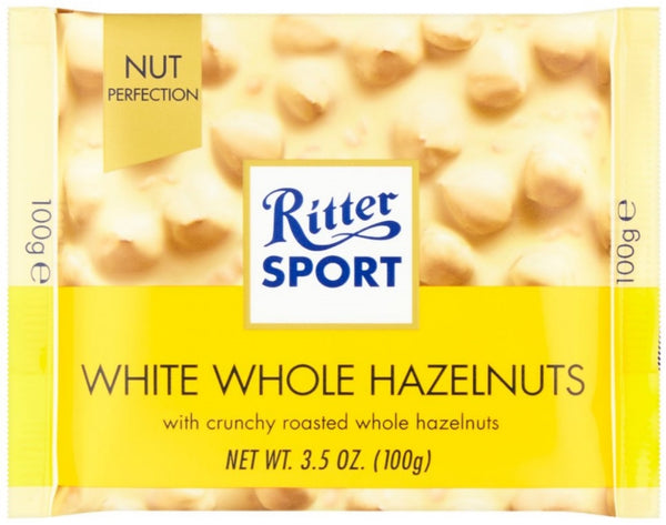 Ritter Sport White Whole Hazelnuts