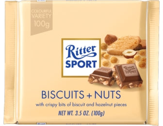 Ritter Sport Biscuits & Nuts