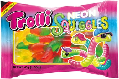 Trolli Neon Squiggles Packet