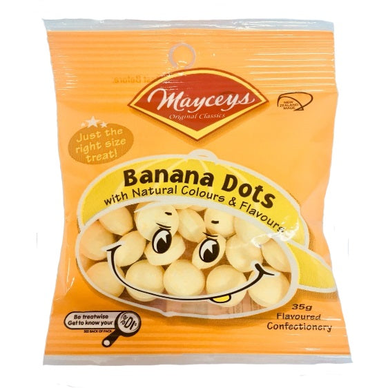 Mayceys Banana Dots