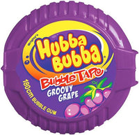 Wrigley's Hubba Bubba Grape Tape 56g