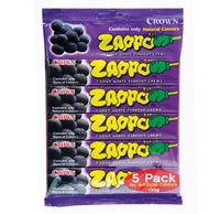 Crown Zappo Grape Chew 5pk