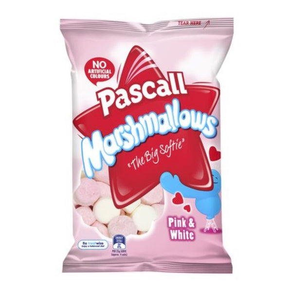 Pascall Raspberry and Vanilla Marshmallow