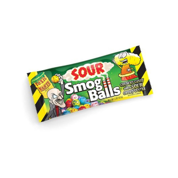 Candy Dynamics Toxic Waste Sour Smog Balls