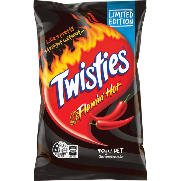 Limited Edition Flamin' Hot Twisties