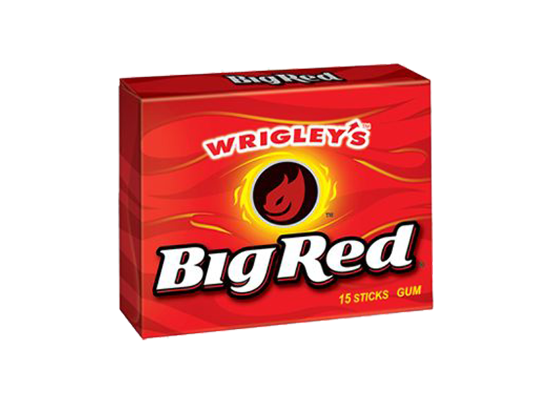 Wrigley's Big Red Gum 15pc