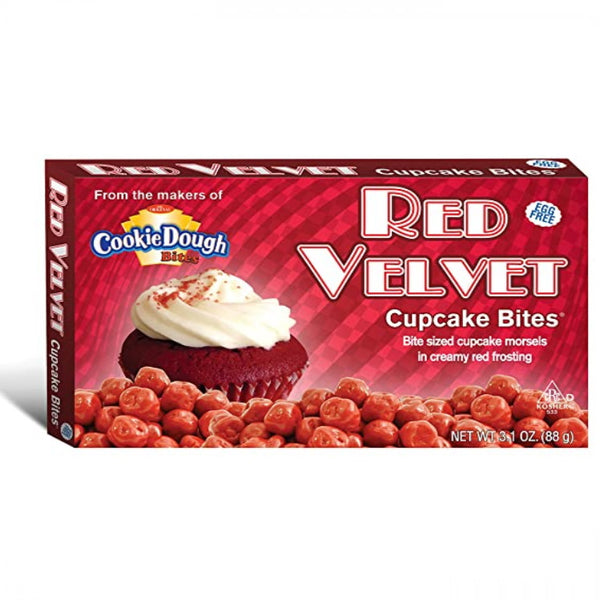 Taste of Nature Red Velvet Cupcake Bites Movie Box