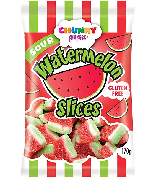 Chunky Sour Watermelon Slices
