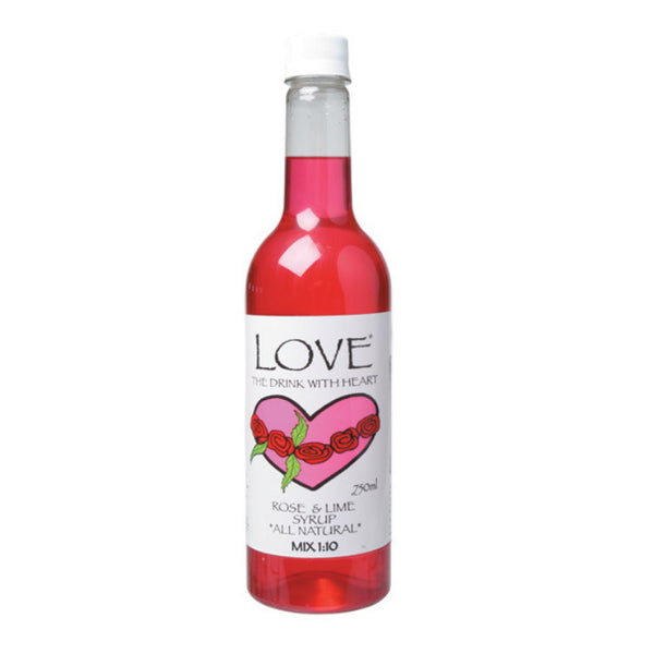 Alchemy Love Cordial Rose Petal & Lime