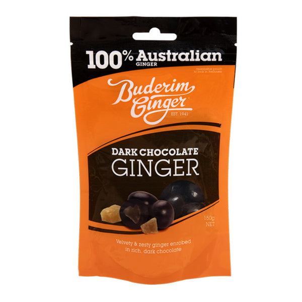 Buderim Ginger Dark Chocolate Ginger Bag