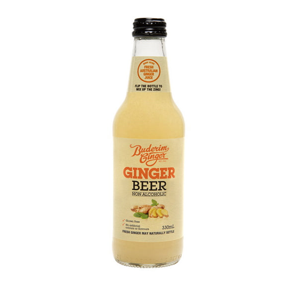 Buderim Ginger Ginger Beer Bottle