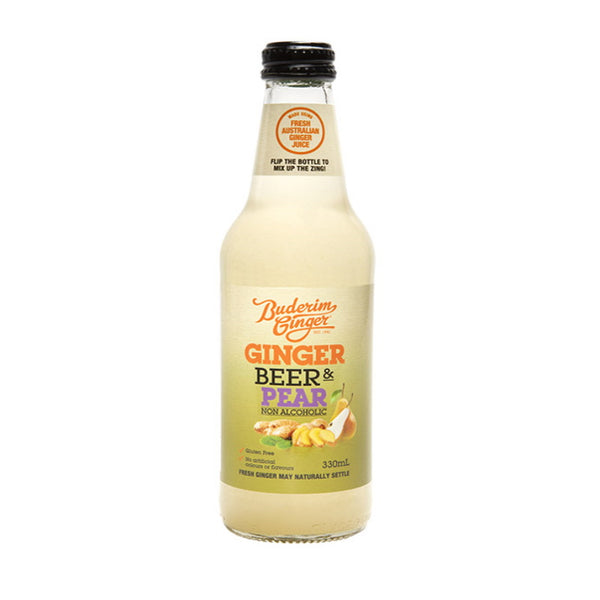 Buderim Ginger Ginger Beer & Pear Bottle