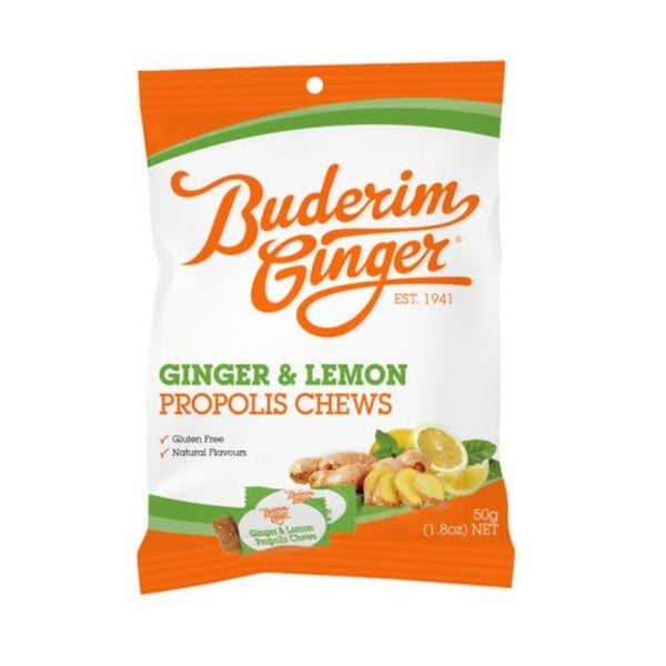 Buderim Ginger Ginger & Lemon Chews
