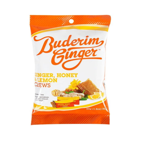 Buderim Ginger Ginger, Honey & Lemon Chews