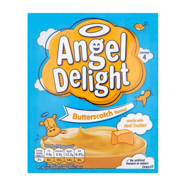 Angel Delight Butterscotch Dessert