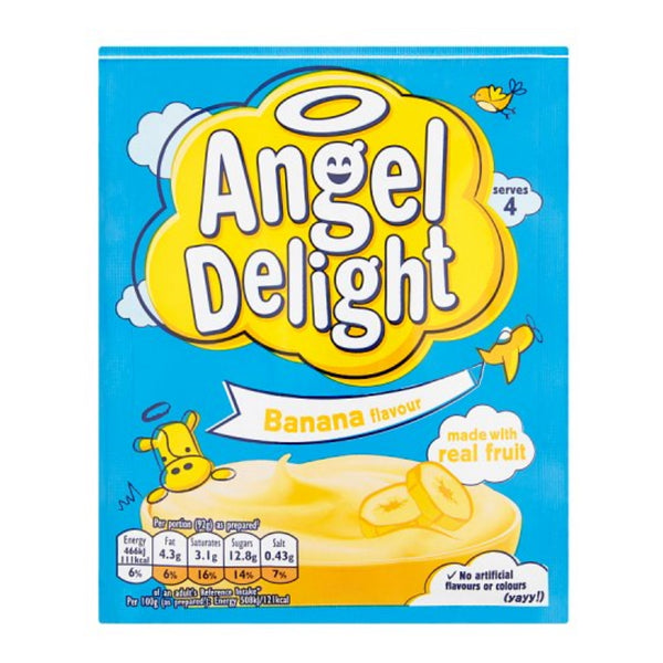 Angel Delight Banana Dessert