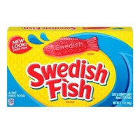 Mondelez Swedish Fish Red Movie Box