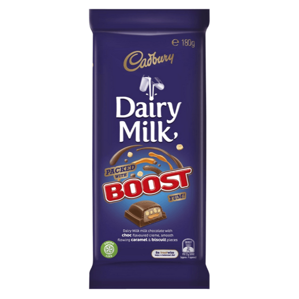 Cadbury Boost Dairy Milk Choc Block