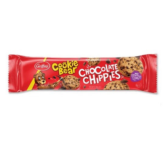 Griffins Cookie Bear Chocolate Chippies Biscuits