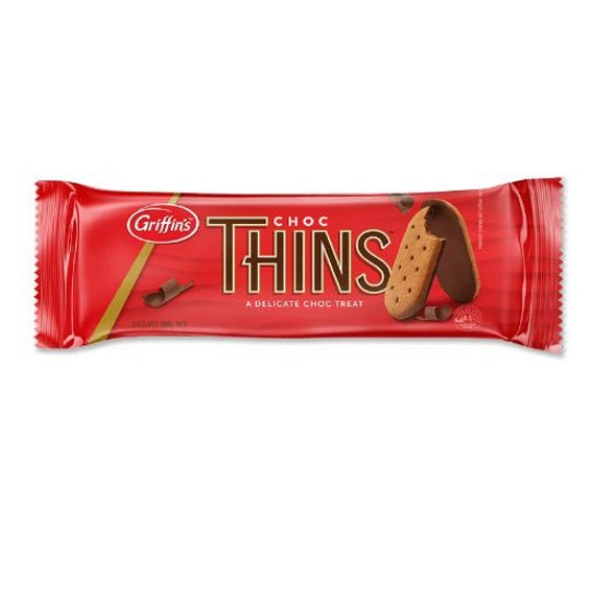 Griffins Choc Thins Biscuits