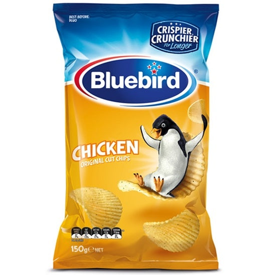 Bluebird Chicken Original Cut Chips