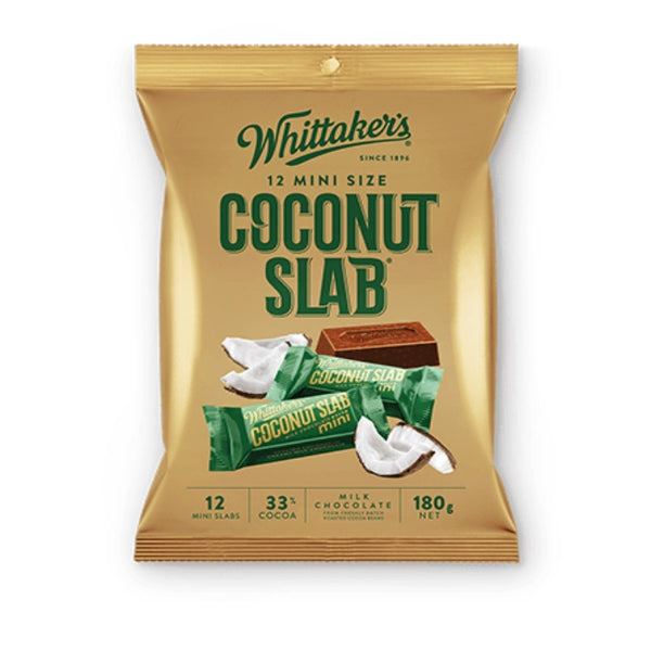 Whittaker's & Sons Coconut Slab Sharepack