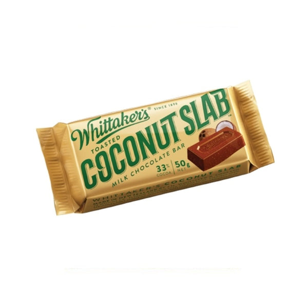 Whittaker's & Sons Toasted Coconut Slab