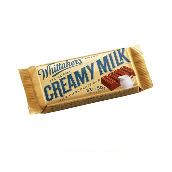 Whittaker's & Sons Creamy Milk 33% Cocoa Slab