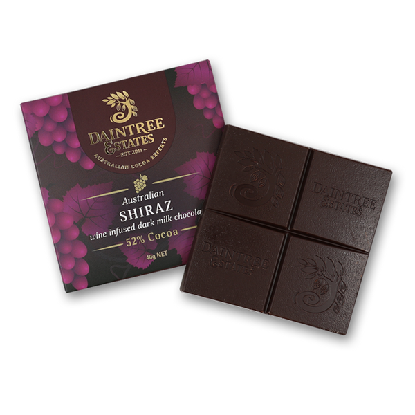 Daintree Estates Shiraz Wine Dark Choc
