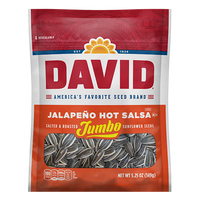 David Sunflower Seeds Jalapeno Hot Salsa