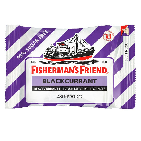 Fisherman's Friend Blackcurrant & Menthol S/F