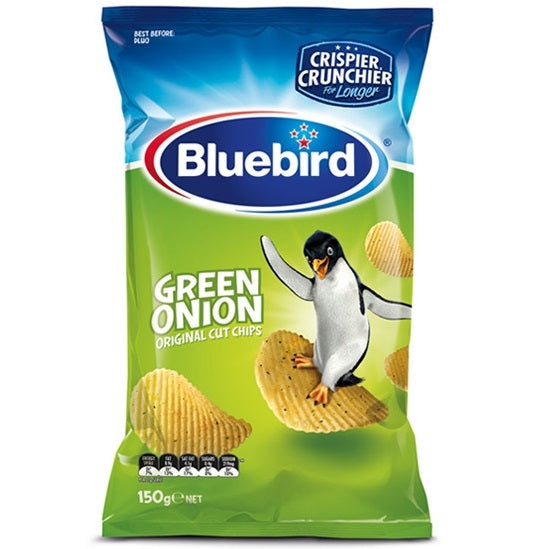 Bluebird Green Onion Original Cut Chips