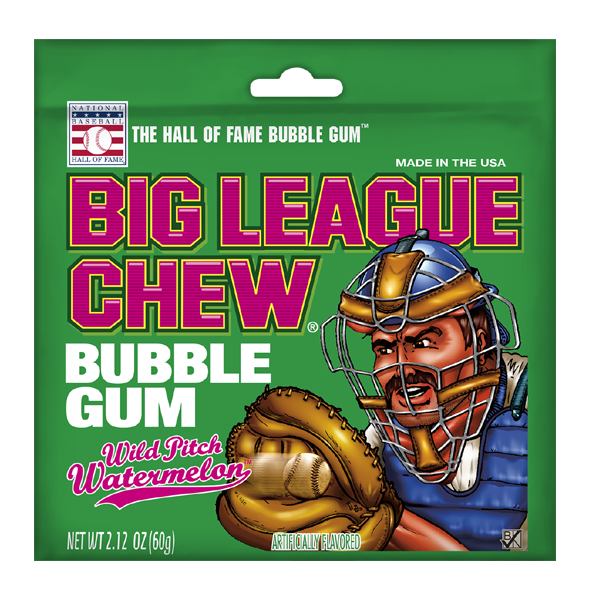 Ford Gum & Machine Company Big League Chew Watermelon
